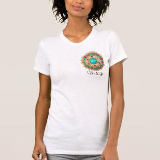 camisa de Brooche del vintage