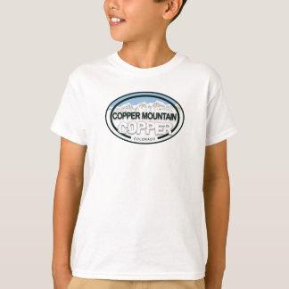 Camisa de cobre de la etiqueta de la montaña de
