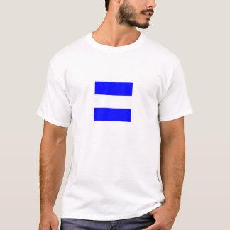Camisa de color claro de la bandera de Juliet