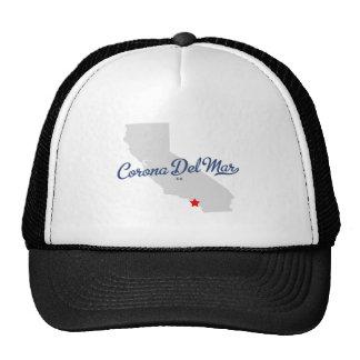 Camisa de Corona del Mar California CA Gorro