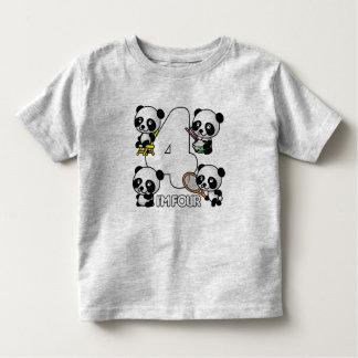 Camisa de CUATRO PANDAS - elija el estilo -