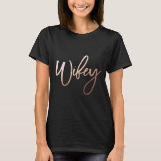 Camisa de //de la camisa del fiesta de WIFEY