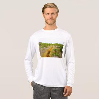 Camisa de deporte del país de la colina del