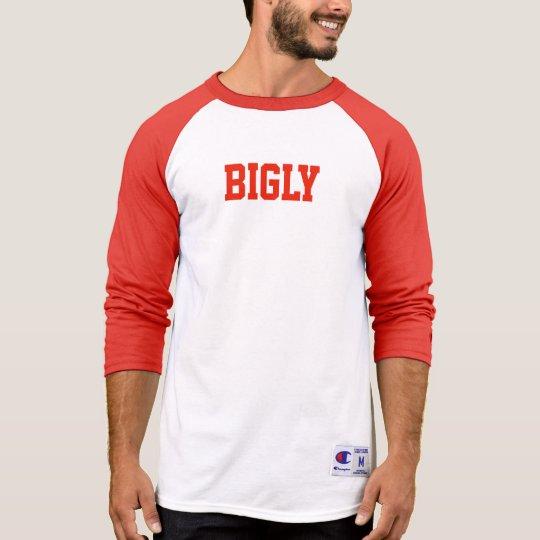 Camisa de deportes de Bigly del equipo