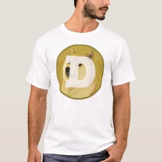 Camisa de Dogecoin (Shibe silencioso)