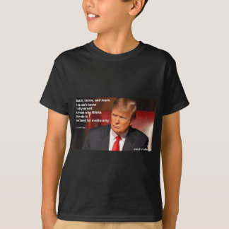 Camisa de Donald Trump, camisa política, elección