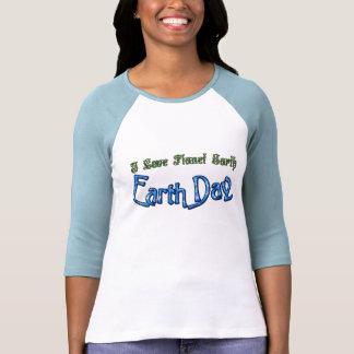 Camisa de Eco de la tierra del planeta del amor