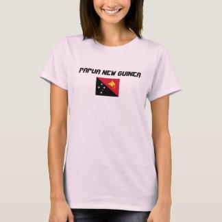 Camisa de encargo de la bandera de Papúa Nueva