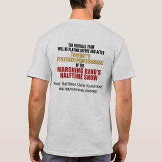 Camisa de encargo (trasera) de medio tiempo de la
