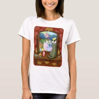 Camisa de hadas del arte de la fantasía del espejo