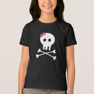 Camisa de Halloween - cráneo y bandera pirata para
