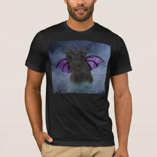 Camisa de Halloween del gato del vampiro