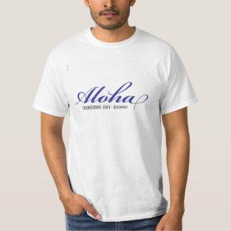 Camisa de hawaiana de Hawaii de la bahía de