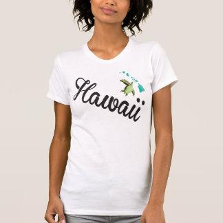 Camisa de hawaiana de la tortuga de las islas de