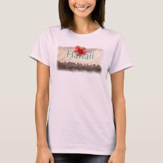 Camisa de Hawaii de la playa de Waikiki
