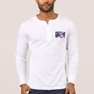 Camisa de Henley del béisbol
