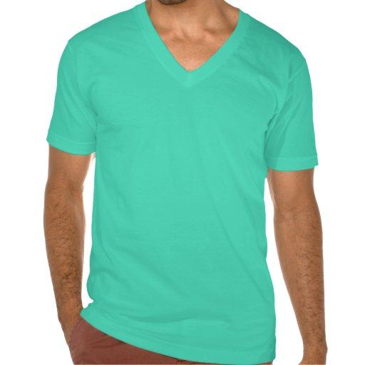 camisa de la aguamarina