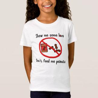 Camisa de la alergia del cacahuete (niños)