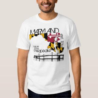 Camisa de la bahía de Chesapeake de Maryland