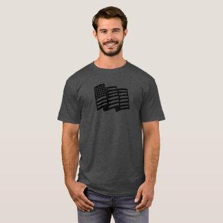 Camisa de la bandera americana - camiseta,