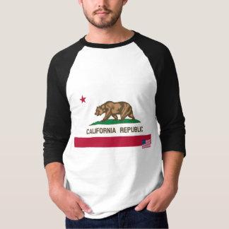 Camisa de la bandera de California