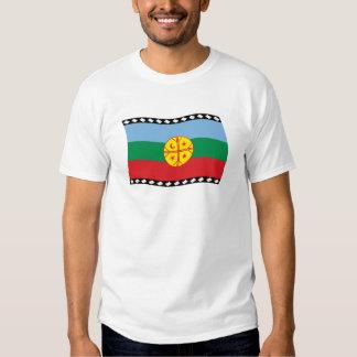 Camisa de la bandera de Mapuches