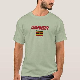 Camisa de la bandera de Uganda