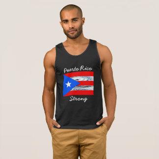 Camisa de la bandera del huracán fuerte de Puerto