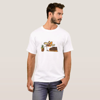 Camisa de la bebida de la piña de Sunhat del Corgi