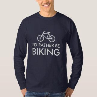 Camisa de la bici con el lema el | de la diversión