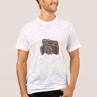 Camisa de la cámara del vintage de la retina de