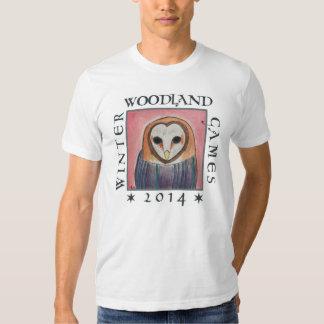camisa de la capucha del búho para los juegos 2014