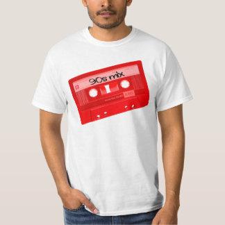 camisa de la cinta de casete de la mezcla 90s