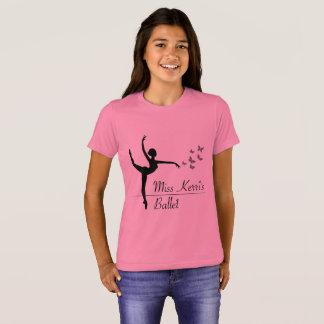Camisa de la cita de los chicas del programa del