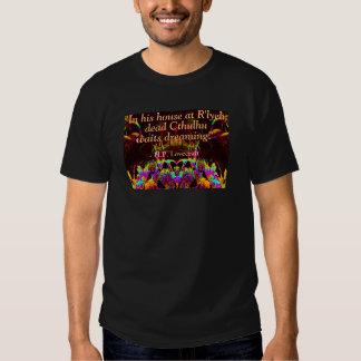 Camisa de la cita de Lovecraft