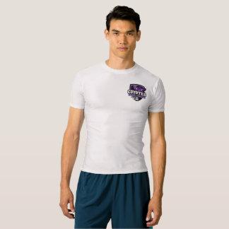 Camisa de la compresión del fútbol para entrenar