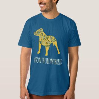 Camisa de la conciencia de Pitbull