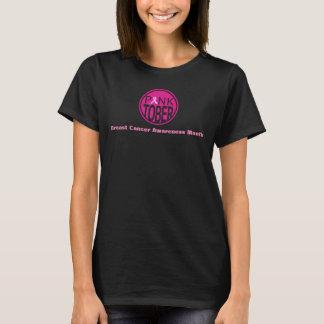 Camisa de la conciencia del cáncer de pecho de