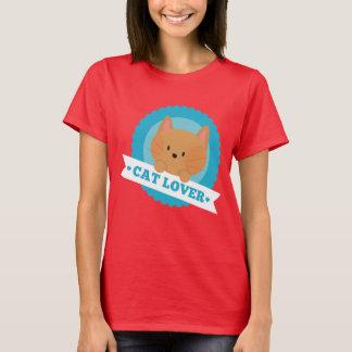Camisa de la diversión del amante del gato