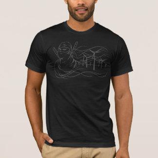 Camisa de la energía eólica de Ninja- de la