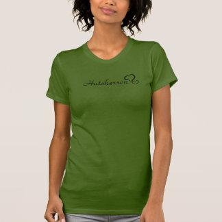 camisa de la escuela del hutcherson