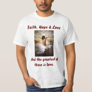 Camisa de la fe, de la esperanza y del amor