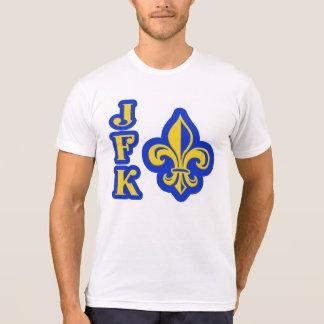 Camisa de la flor de lis de JFK