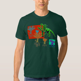 Camisa de la impresión del arte del CYCAD