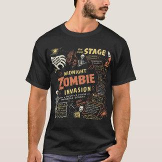 Camisa de la invasión del zombi de Midnite del