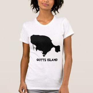 Camisa de la isla de Gotts - el AP sólido de las
