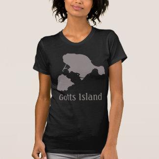Camisa de la isla de Gotts - gris y negro