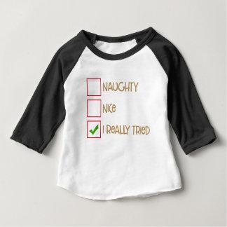 Camisa de la lista de Santa
