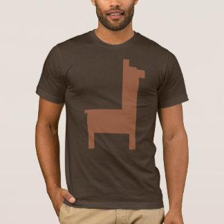 Camisa de la llama del pixel