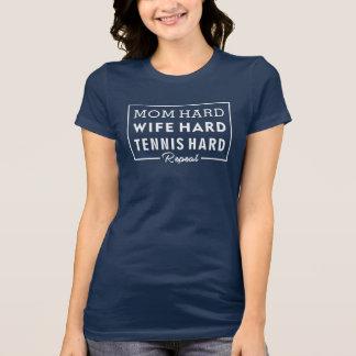 Camisa de la mamá - mamá del amante del tenis